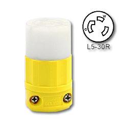 Leviton 30 Amp, 125 Volt Locking Connector