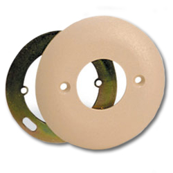 Suttle Round Faceplate for use with 625F Jacks