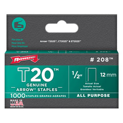 Arrow Fastener Co. T2025 - 1/2
