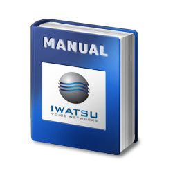 Iwatsu Omega IV Electronic Key Telephone System 1232 - 2464 Manual