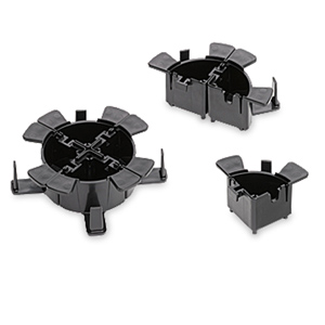 Leviton 1/4 Fiber Cable Management Ring (Package of 4)