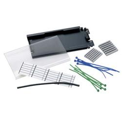 Panduit® Fiber Splice Tray, 6 Mechanical or Fusion Splices