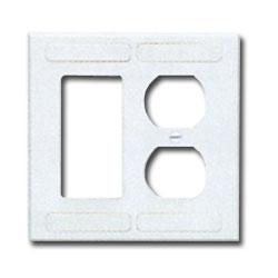 Siemon Double Gang Designer/Duplex Faceplate