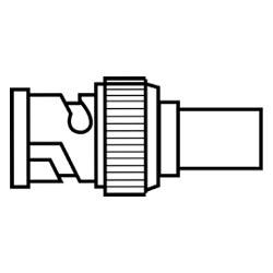 Ideal BNC Terminator, 50 Ohm, IA-3641