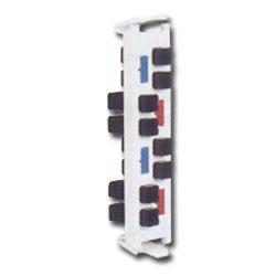 Siemon Flat Quick-Pack 8 Duplex MT-RJ Adapter Plate (16 Fibers)