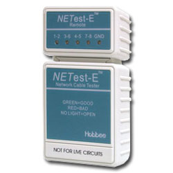 Hobbes USA NETest-E Cable Tester