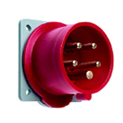 Leviton International-Rated Pin and Sleeve 16A 250V Inlet