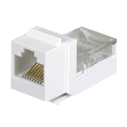 Panduit® NetKey Category 3, 6-Position, 6-Wire, Leadframe UTP Jack Module