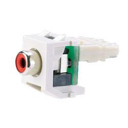 Panduit® NetKey Keystone Module with RCA Punchdown Connector