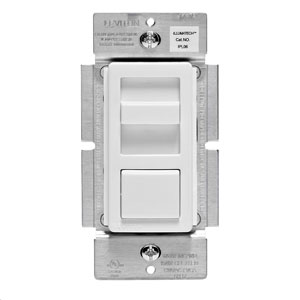 Leviton Decora Dimmable LED,CFL and Incandescent IllumaTech Slide Dimmer