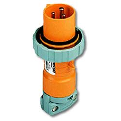 Leviton 125/250 AC 2P3W Wiring Watertight Pin and Sleeve Plug