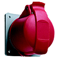 Leviton International-Rated Pin and Sleeve 16A 200/346 - 240/415 V Receptacle