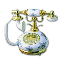 Golden Eagle Porcelain Nostalgic Phone