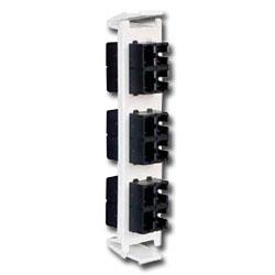 Siemon Flat Quick-Pack 6 Duplex SC Adapter Plate (12 Fibers)