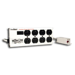 Tripp Lite 8 AC Outlet Surge Suppressor with Remote On/Off Switch