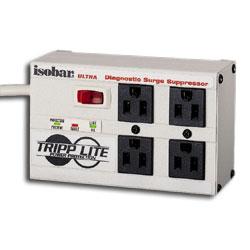 Tripp Lite 4 AC Outlet Ultra Diagnostic Surge Suppressor