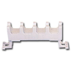 Siemon Wall Mount S110/S210 Cable Manager with Legs - 1 RMS