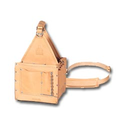 Ideal Tuff-Tote Ultimate Tool Carrier with Shoulder Strap, Standard Leather Model