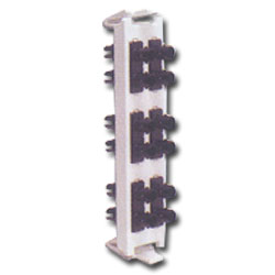 Siemon Flat Quick-Pack 6 Duplex ST Adapter Plate (12 Fibers)