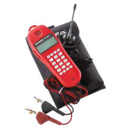 Fluke Networks TS25D Test Set Kit with Headset & Pouch