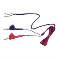 Fluke Networks Line Cord with Angled Piercing Pin Clips