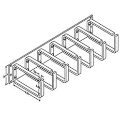Chatsworth Products Large Horizontal Ring Panel