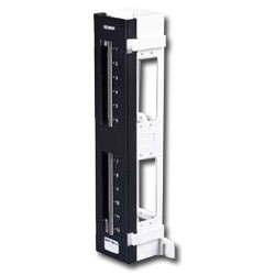Siemon 12-Port Max Panel Mounted on S89D Bracket