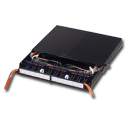 Siemon 6- to 72-Port Fiber Connect Panel with Sliding Tray