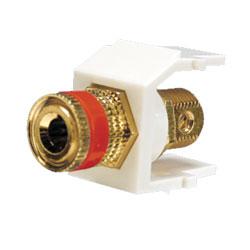 Panduit® NetKey Keystone Module with 5-Way Binding Post
