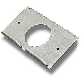 Legrand - Wiremold RFB6 Series Internal Single Receptacle Bracket