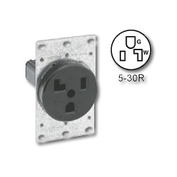 Leviton 30Amp Flush Mount Receptacle