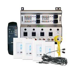 Channel Vision 4-Source 4-Zone A-BUS Audio Matrix Kit