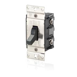 Leviton Double-Pole Back and Single Phase AC Motor Starting Switch