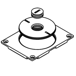 Legrand - Wiremold Modulink 880MP Communications Cover Plate with 2 5/8