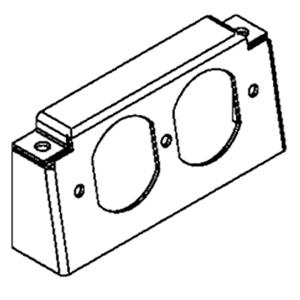 Legrand - Wiremold RFB4 Series Internal Duplex Bracket