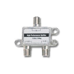 Ideal Coaxial Splitter - 2 Way / 1GHz
