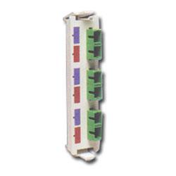Siemon Flat Quick-Pack 3 Duplex SC/APC Adapter Plate (6 Fibers)