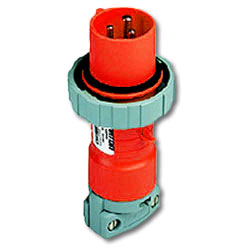 Leviton 480 AC 2P3W Wiring Watertight Pin and Sleeve Plug