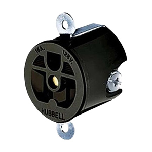 Hubbell Compact Heavy Duty Straight Blade Receptacle