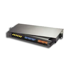 Hubbell OPTIchannel Hinged Fiber Panel (Rack Mount)