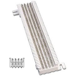Siemon S66 Field-Terminated M Series S66 Block (100 Pair)