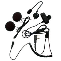 Pryme SPM-800 Series Medium Duty In-Helmet Mic for Icom Radios - 3/4