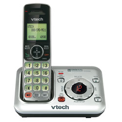 Vtech DECT 6.0 Expandable Cordless Answering System with Caller ID and Speakerphone