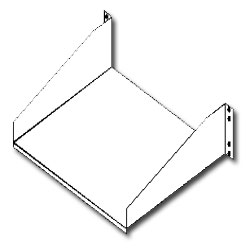 Southwest Data Products Relay Rack Shelf for 17 1/4