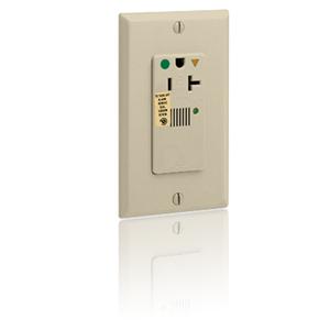 Leviton Hospital Grade, Isolated Ground, Surge Single with Indicator Light & Audible Alarm