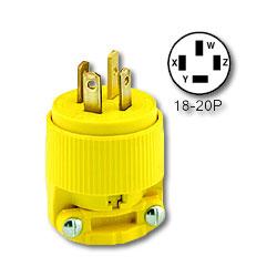 Leviton Matching plug NEMA 18-20P