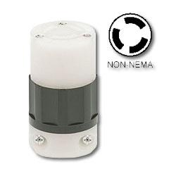 Leviton 15Amp Non-NEMA Locking Connector