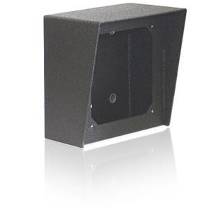 Viking 5x5 Surface Mount Box in Black Powder Painted Steel Finish