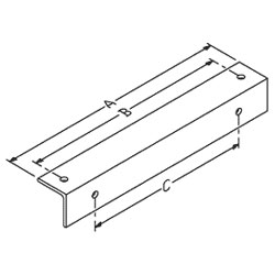 Chatsworth Products Wall Angle Support Kit