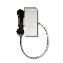 Ceeco Magnetic Hookswitch Wall Mount Phone with Automatic Dialer
